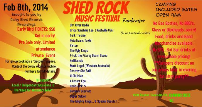 Shed Rock Festival
